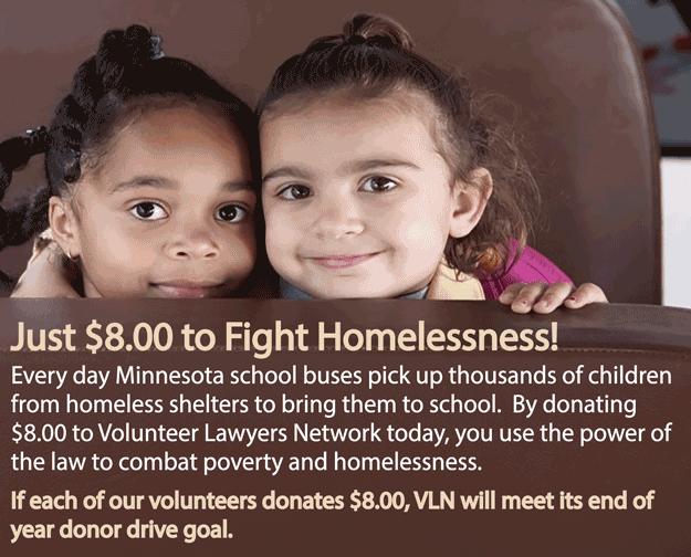 Volunteer $8 Campaign