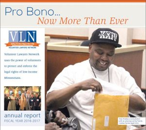 cover of VLN's FY17 annual report