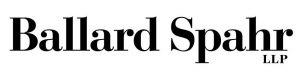 "black bold serif font reading ""Ballard Spahr LLP"" logo"