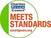 Charities Review Council Meets Standards Badge