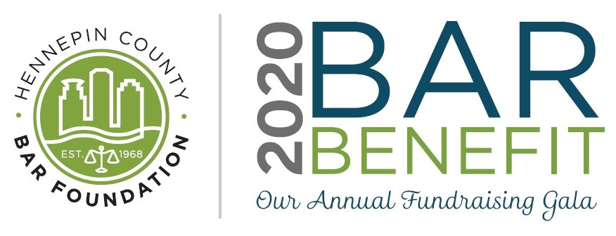 logo advertising the 2020 Bar Benefit
