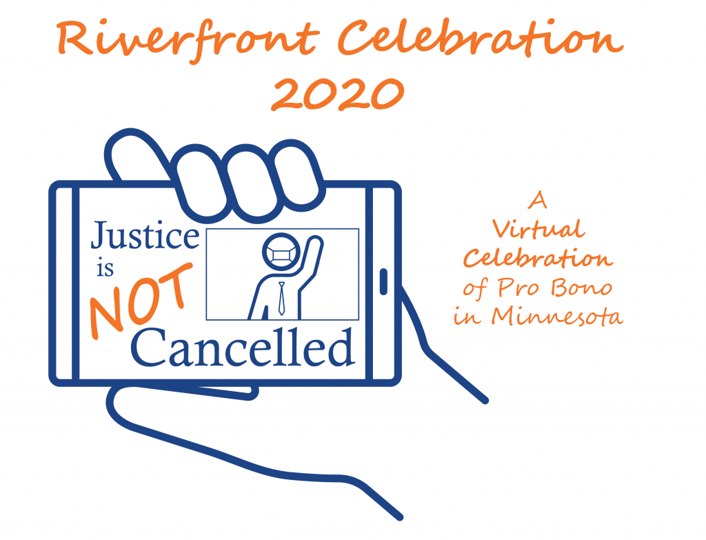logo adn heading for Riverfront Celebration 2020