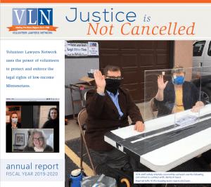 cover of 2019-20 VLN annual report